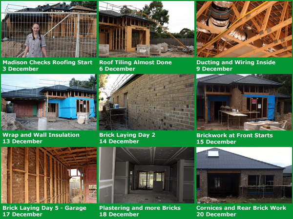 Third Group of Home Building Images